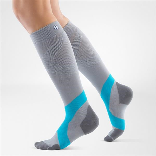 Calza Compression Sock Training corto.Bauerfeind