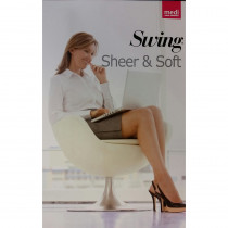 Calza autoreggente Sheer e Soft Natural.Medi